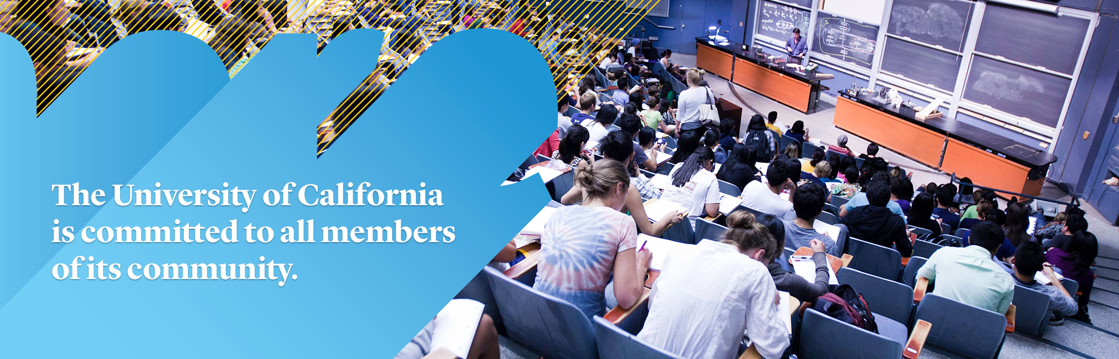 The University of California is committed to all members of its community. Click here for the UC systemwide website with up-to-date information and statements regarding the executive order as well as links to resources, including for undocumented students.