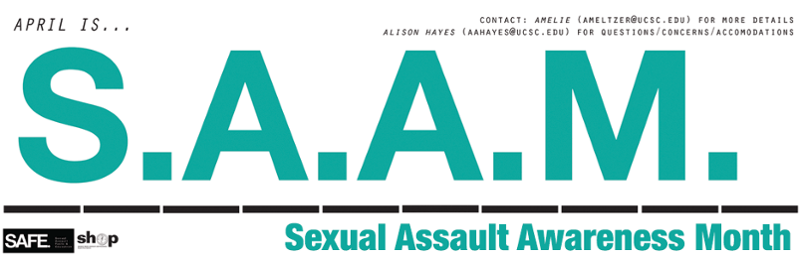 Banner: April is Sexual Assault Awareness Month